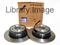 740,940,960 Series (excl multi-link suspension)Rear Brake Discs (Pair)