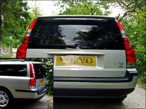 V70/V70XC 2000 to 2008 - Aftermarket Rear Spoiler