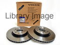 S40, V50 Series, 2004 to 2012 (15 inch 278mm) Front Discs (Pair)