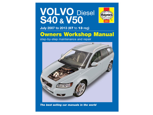 s40 v50 diesel 2008 to 2013 haynes workshop manual rh partsforvolvosonline com
