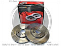 400 Series Front Brake Discs (Pair) NOT VENTED
